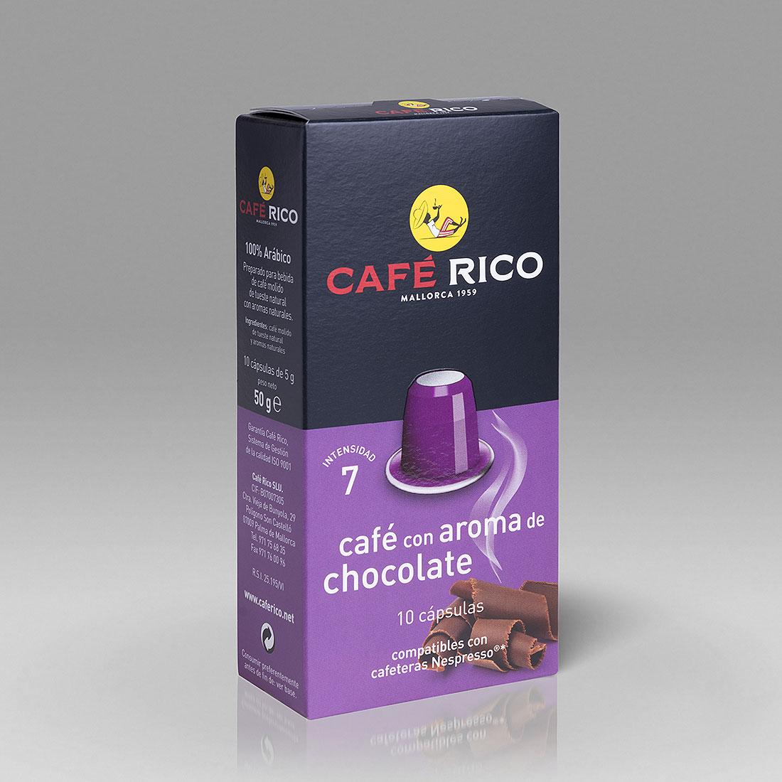 Cafe-Rico-Kapseln-Schokoladenaroma