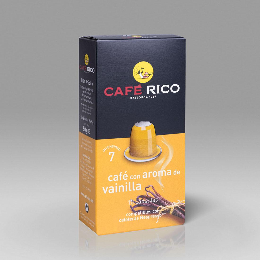 Cafe-Rico-Kaffeekapseln-Vanillearoma